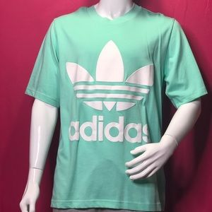 Turquoise Adidas shirt brand new with price tags